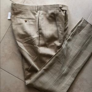 Dress slacks size 34/38 unhemmed Made in Italy